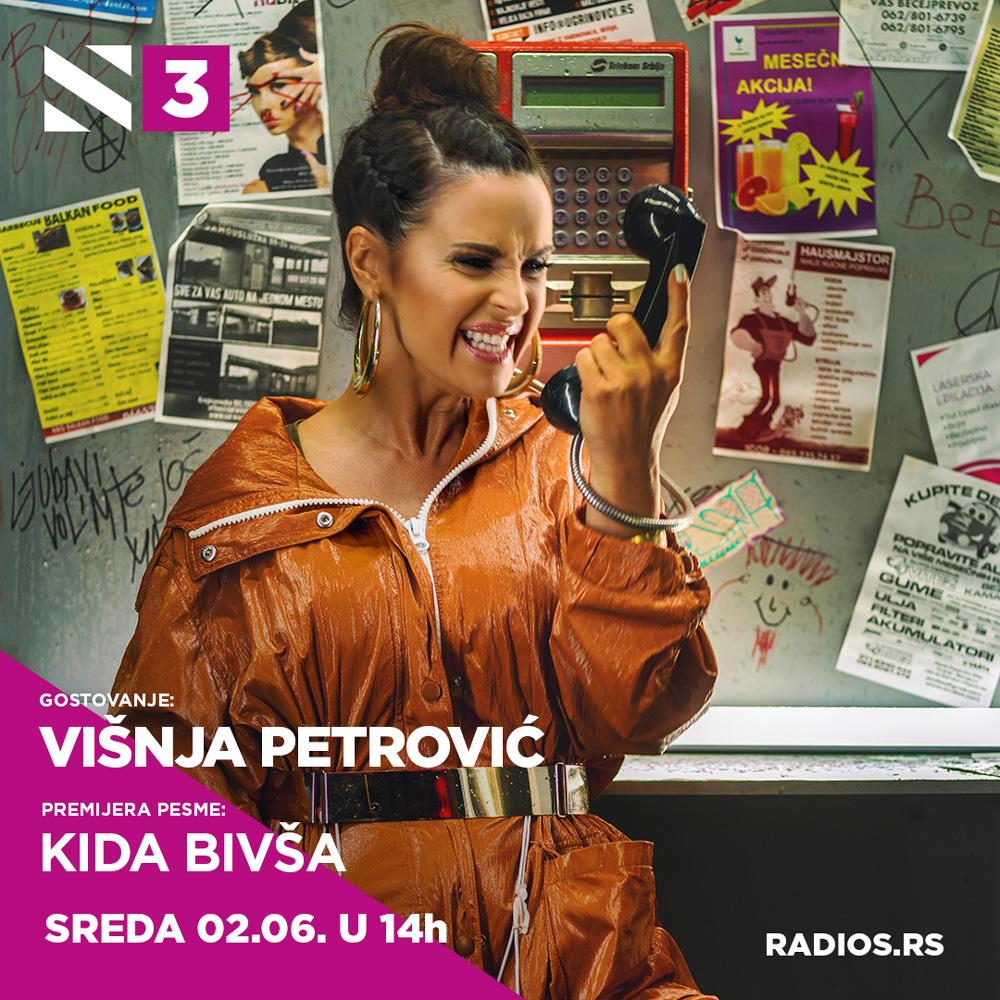 Premijera nove pesme Višnje Petrović 'Kida bivša'