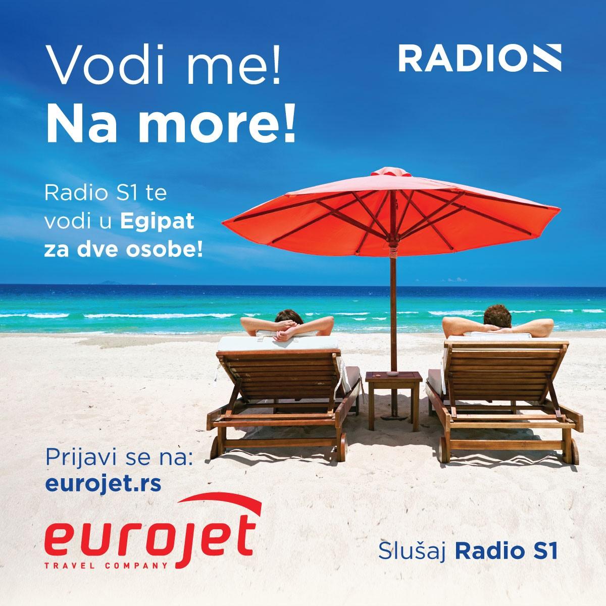 Radio S! Vodi me na more!