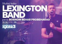 Lexington band - Bosnom behar probeharao ZVEZDE PEVAJU ZVEZDE 3