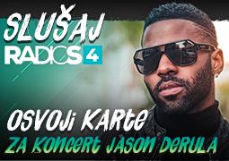 Radio S4 te vodi na koncert Jason Derula