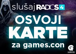 Radio S4 te vodi na GAMES.CON