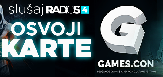 Radio S4 te vodi na GAMES.COM