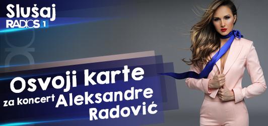 Osvoji karte za koncert Aleksandre Radović