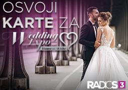 Decembar je meses darivanja, zato ti ovog meseca poklanjamo puno poklona! Radio S3 te vodi na najveći sajam venčanja u SrbijiWEDDING EXPOu hotelu METROPOL PALACE 14-16 decembra 2018 god.