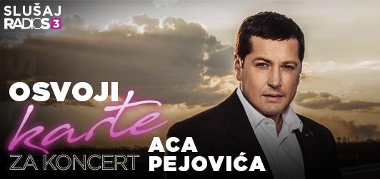 Osvoji karte za koncert Ace Pejovića