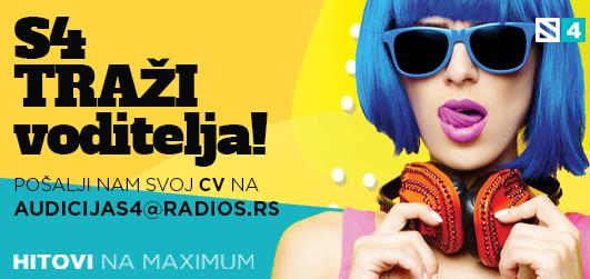 Radio S4 traži voditelja