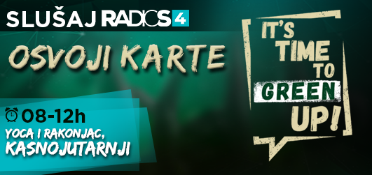 Osvoji karte za Green Up Party
