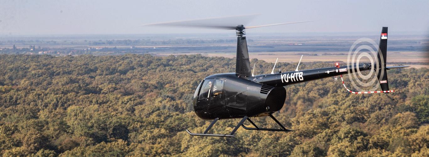 Vožnja helikopterom za celu ekipu