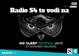 Radio S4 te vodi na No sleep