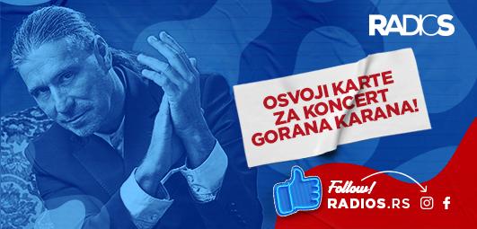 Osvoji karte za koncert Gorana Karana