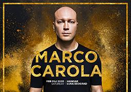 Osvoji karte za nastup Marca Carole na Radiju S2! Od ponedeljka 27.01. do petka 31.01. 2020. u terminu od 10 do 18h poklanjamo karte za nastup Marca Carole u Hangaru.