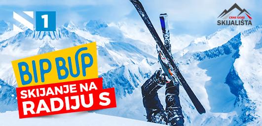 BIP BUP skijanje na Radiju S