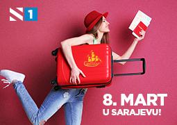 Osvoji putovanje u Sarajevo za 8. mart