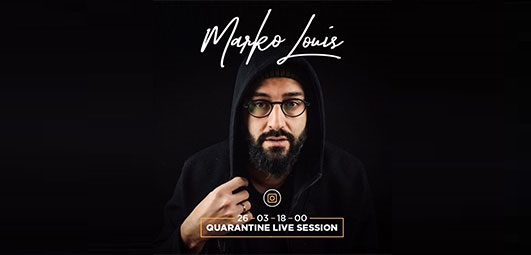 Marko Louis najavio online koncert
