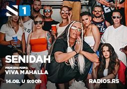 Senidah – Viva Mahalla premijerno na Radiju S