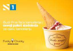 PRVA FACA KANCELARIJE – osvoji sladoled za cijelu kancelariju
